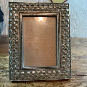 Other - SOLD Beautiful Silver Frame 3 x 4
